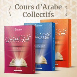 Apprendre l'arabe litteraire en groupe